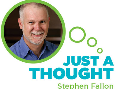 Just a Thought: Stephen Fallon