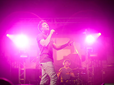 Hoodie Allen at SUB Spring Concert 2012