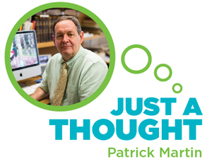 Just a Thought: Patrick Martin