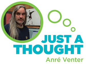 Just a Thought: Anré Venter