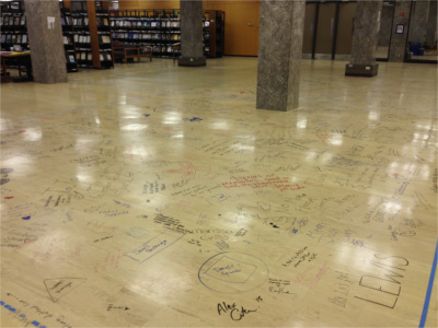 Hesburgh Library Begins First Phase of Renovations