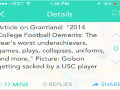 2014 Football Season Abandoned, According to Yik Yak Users
