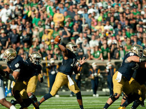 Kizer Keeps Irish Hopes Alive After Zaire Injury
