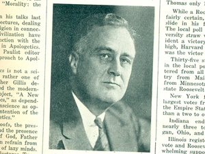 #tbt: Scholastic on FDR