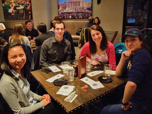 Rohr's Hosts Student Event 'Bites and Brews'