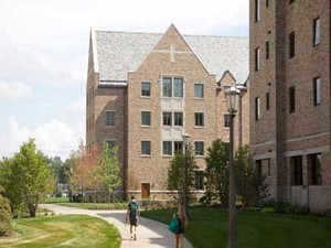 Inside ND's Newest Dorms