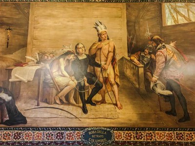 Columbus Murals in the Main Building: They Should Go