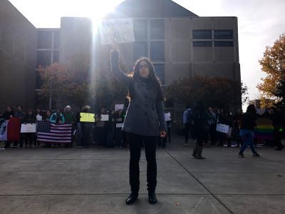 Why students protested a Trump win