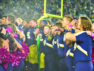 Irish End Season in Memorable Fashion