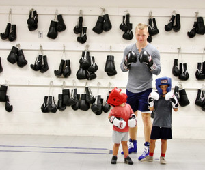Meet the dad who boxes in the Bengal Bouts