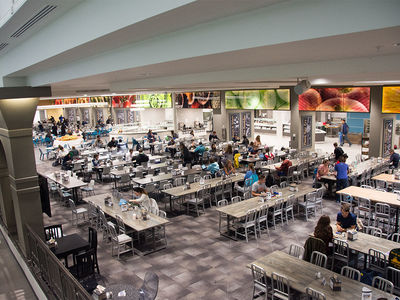 North Dining Hall Renovations Still Somehow Creating Stir