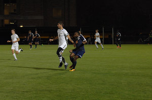 Men's Soccer Continues to Battle in Daunting ACC