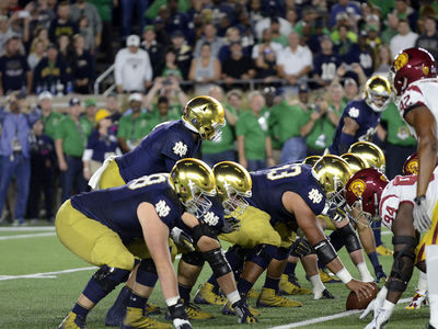 Irish Dominate Trojans in Home Rout
