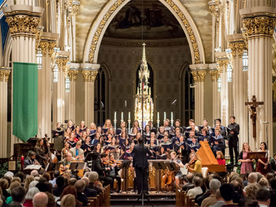Notre Dame Folk Choir Featured in
