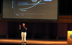 """Standing in the Eye:"" Friendman Lecture Tackles Technological Development and Globalization"