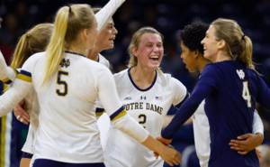 Irish Volleyball Wins Golden Dome Invitational