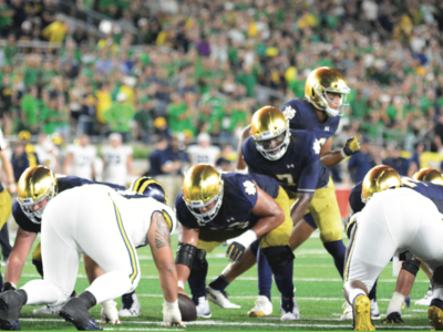 Notre Dame Holds Off Michigan in Week One