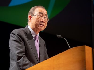 "No ""Planet B:"" Ban Ki-moon Discusses Global Citizenship"