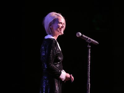 Broadway Star Kristin Chenoweth Performs at Notre Dame