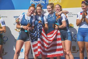 Notre Dame Alumnae Win World Rowing Championship