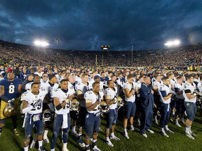 Why Notre Dame Should Drop Its Rivalry with the Naval Academy