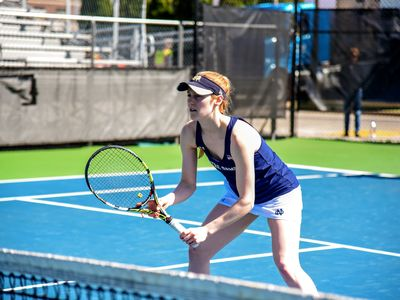 Silverio Leads Women's Tennis