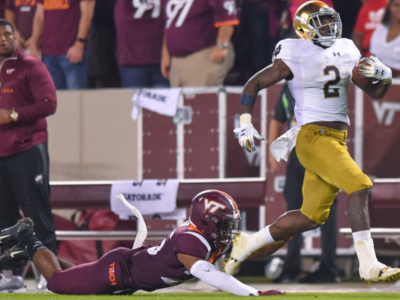 VA Tech: Irish Secure Win in Hostile Lane Stadium