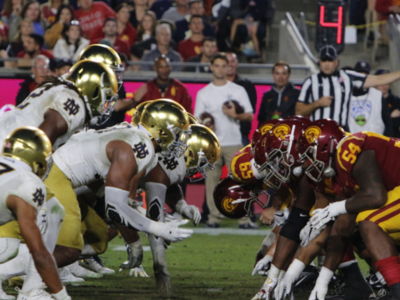 USC: Irish Rise to Defeat Trojans