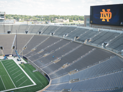 Video Board Blends Progress and Tradition
