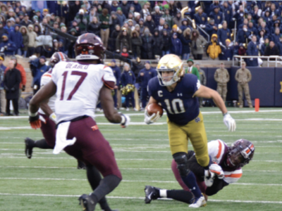 Chris Finke: Thinking Back on His Career at Notre Dame