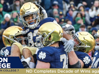 Boston College: ND Completes Decade of Wins against BC