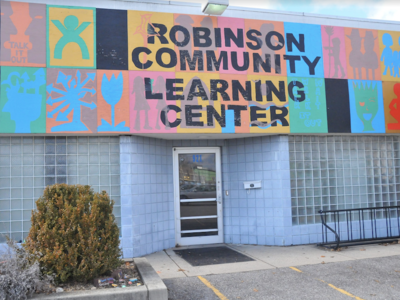 Robinson Community Learning Center Plans for Relocation