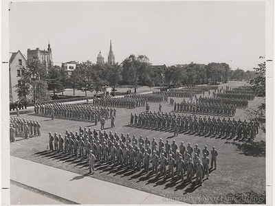 #tbt: Notre Dame and World War II